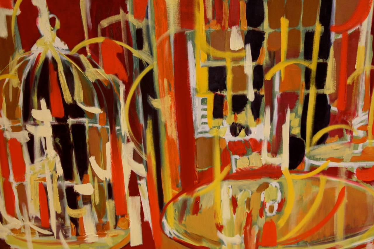 Arnold Weber, 1970, Abstract Painting 1