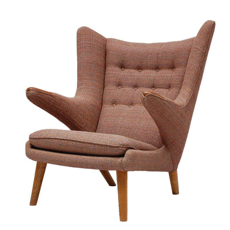 Hans Wegner Papa Bear Chair For Sale at 1stdibs