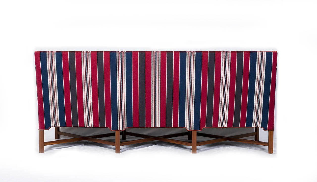 Mid-20th Century Kaare Klint X-Base Sofa For Sale