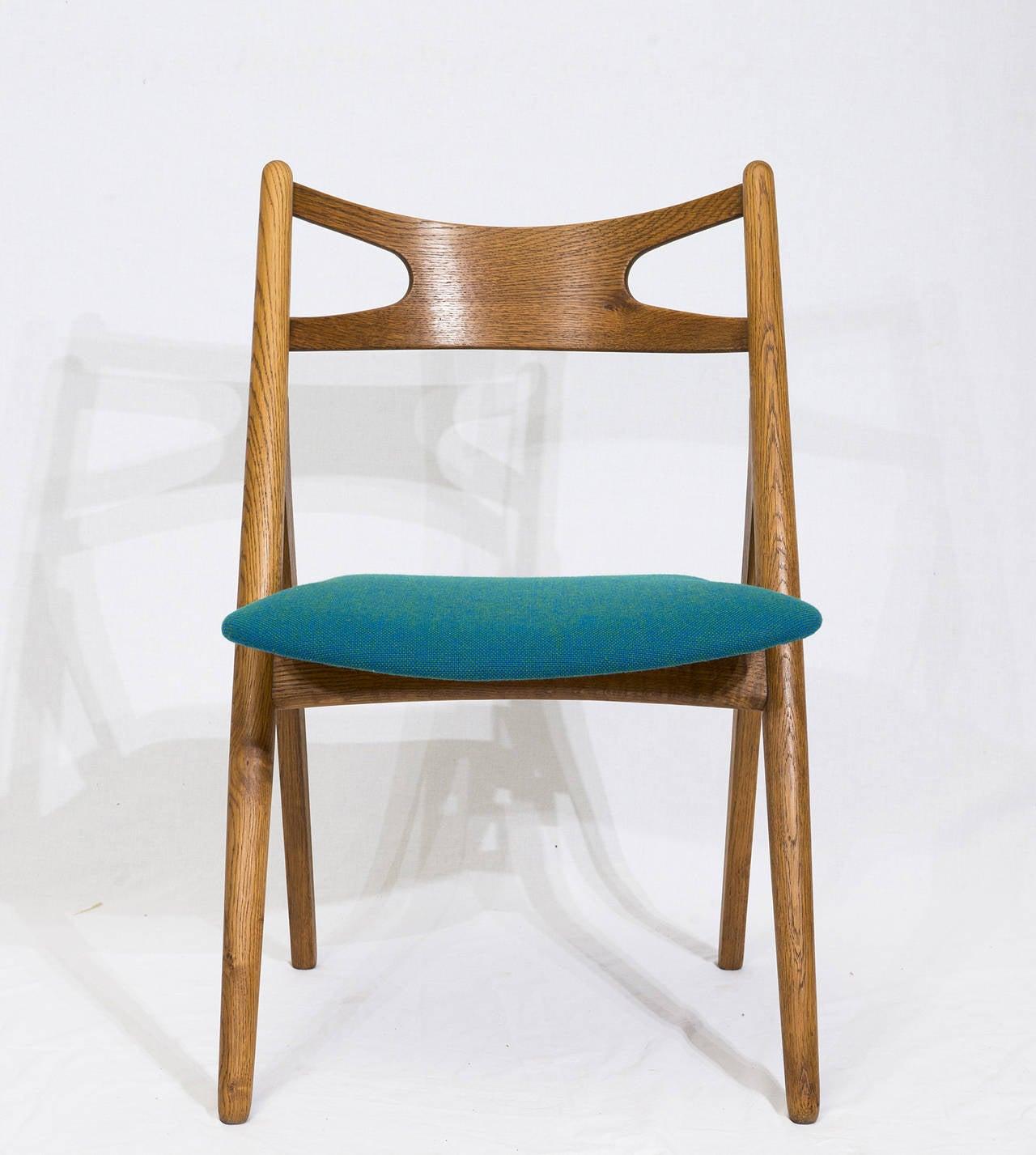 Scandinavian Modern Set of 12 Hans Wegner CH 29 Dining Chairs For Sale
