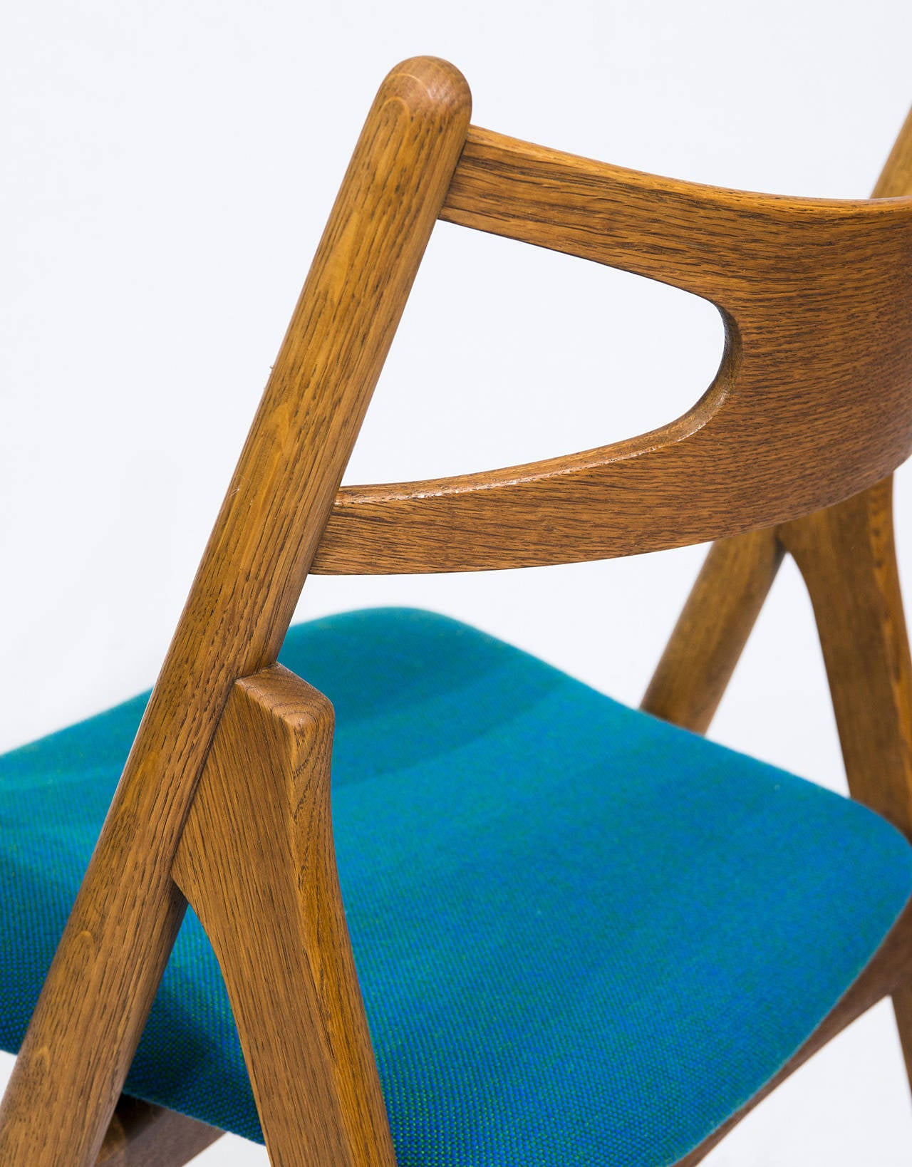 Mid-20th Century Set of 12 Hans Wegner CH 29 Dining Chairs For Sale
