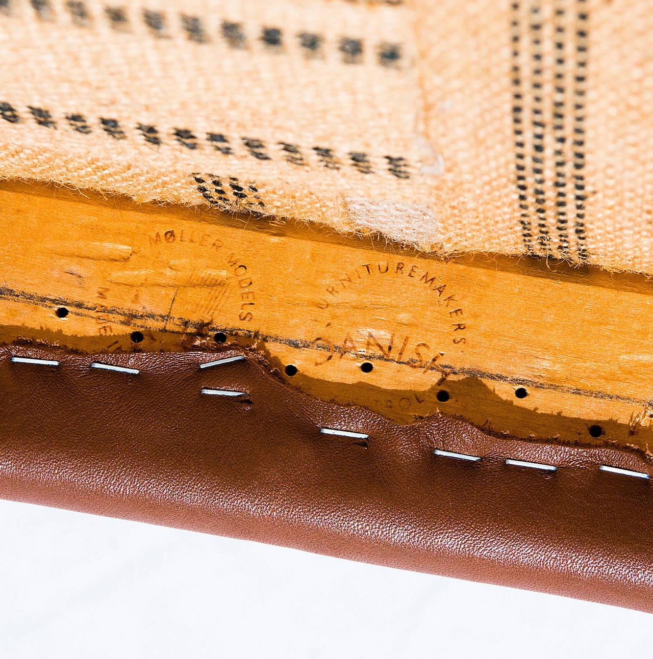 Set of Six Teak Niels Møller Model No. 71 Dining Chairs 2