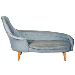 adrian pearsall chaise longue ca 1960s at 1stdibs. Black Bedroom Furniture Sets. Home Design Ideas