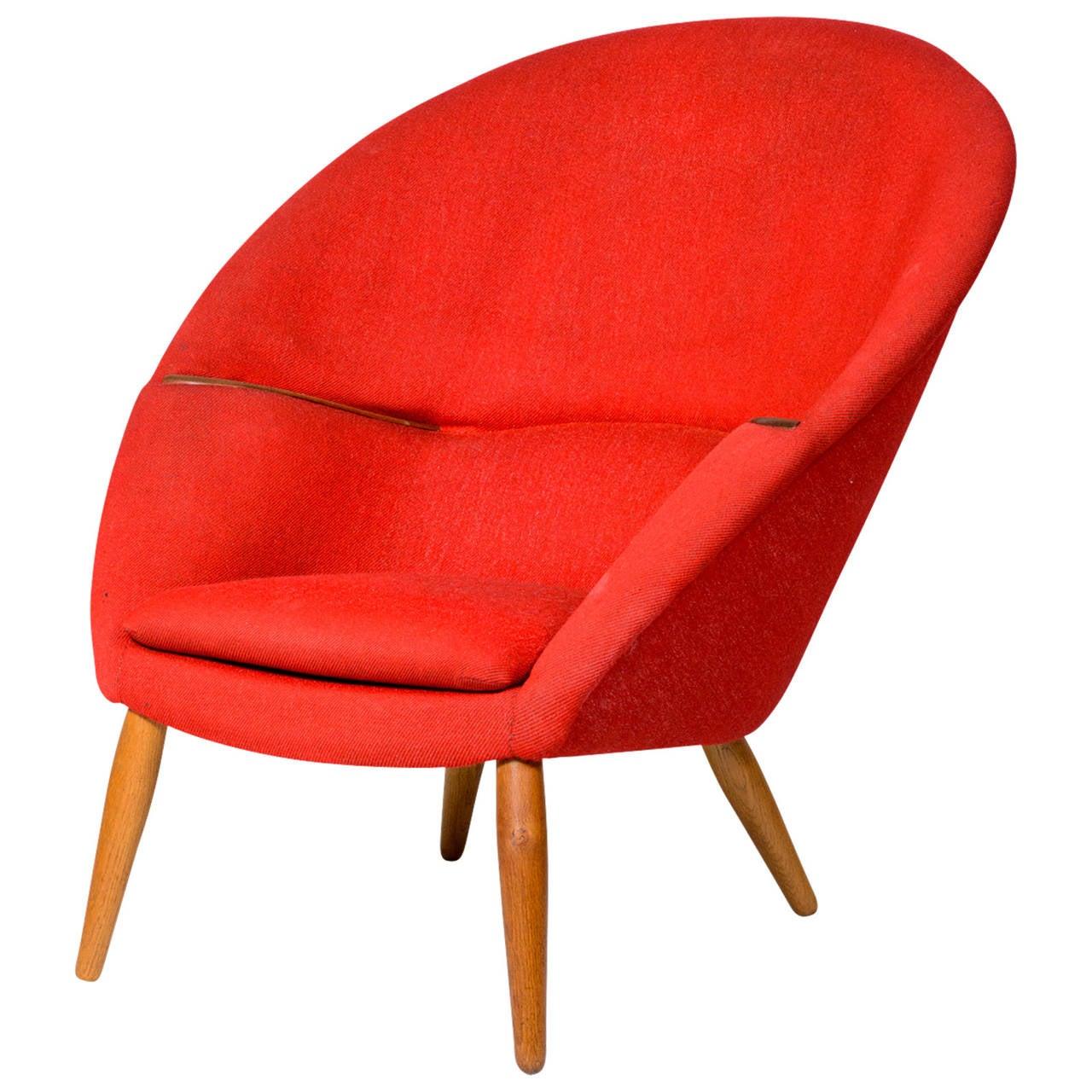 "Nanna Ditzel ""Oda"" Lounge Chair"