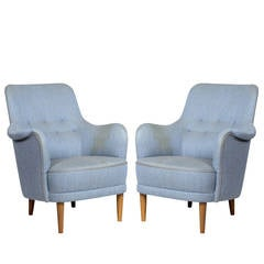 "Pair of Carl Malmsten ""Samsas"" Chairs"