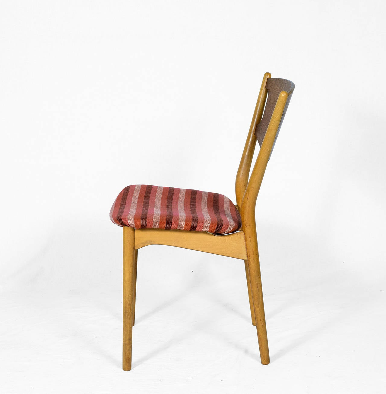 Mid-20th Century Set of Four Danish Dining Chairs For Sale