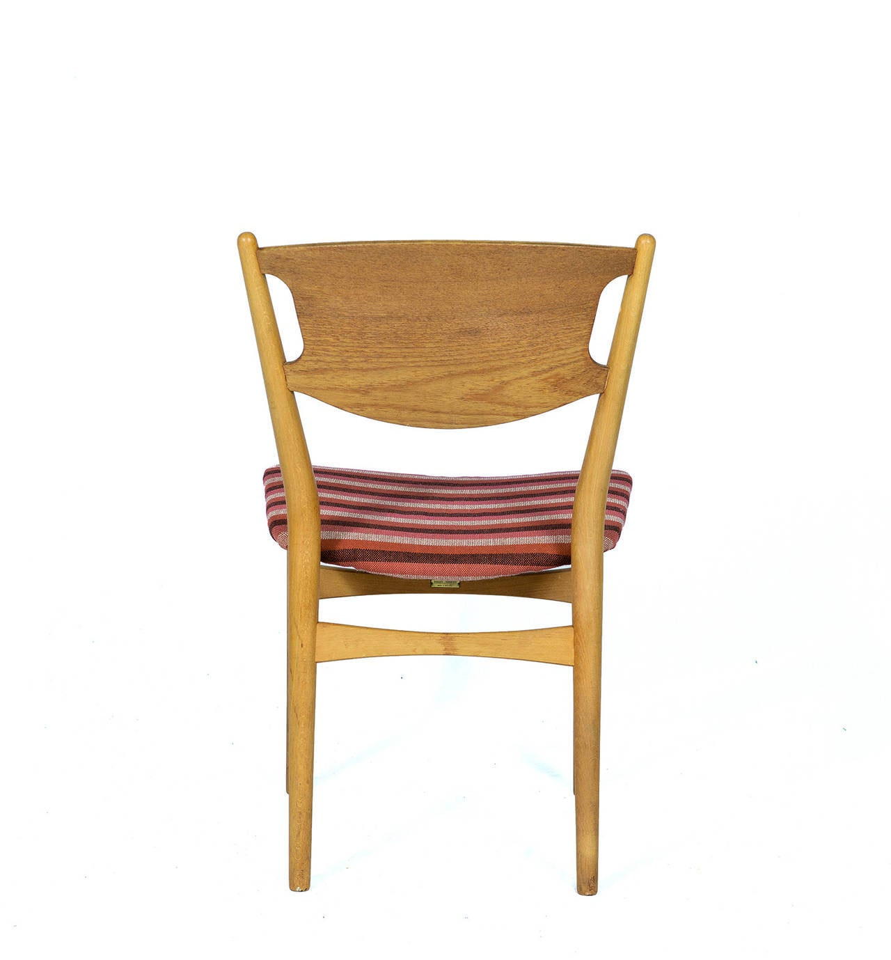 Set of Four Danish Dining Chairs For Sale 1