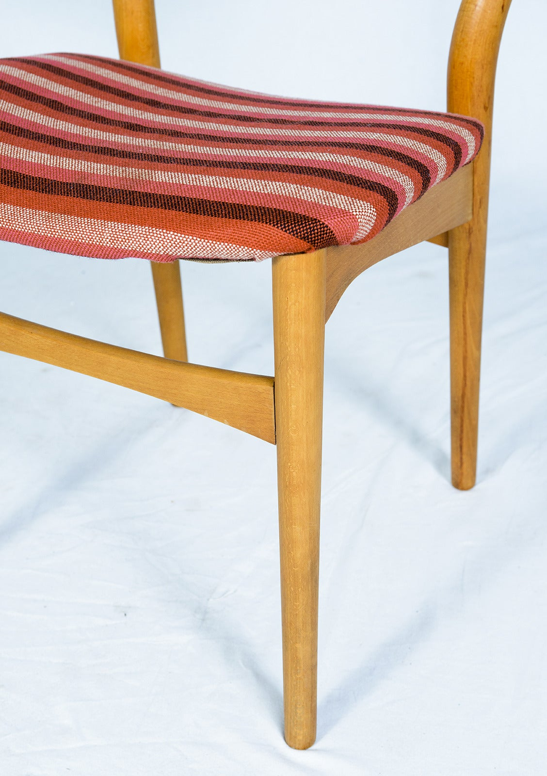 Set of Four Danish Dining Chairs For Sale 2