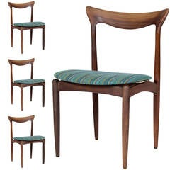 Set of Four Danish Dining Chairs