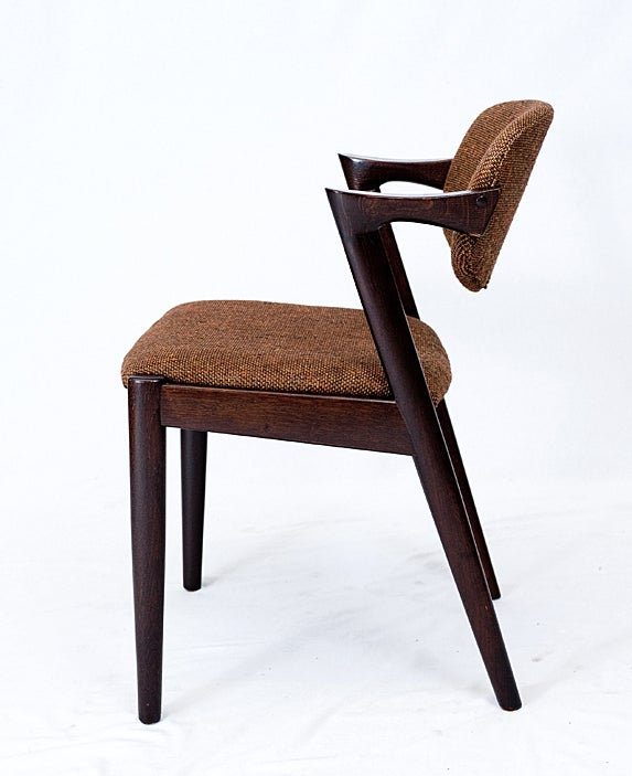 Set of 4 kai kristiansen dining chairs for sale at 1stdibs - Kai kristiansen chairs ...