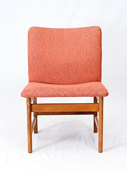 Mid-20th Century Pair of Danish Chairs For Sale