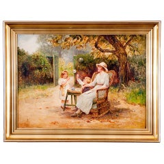 Wonderful Antique Oil Painting