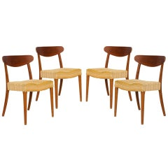 Set of 4 Danish Dining Chairs