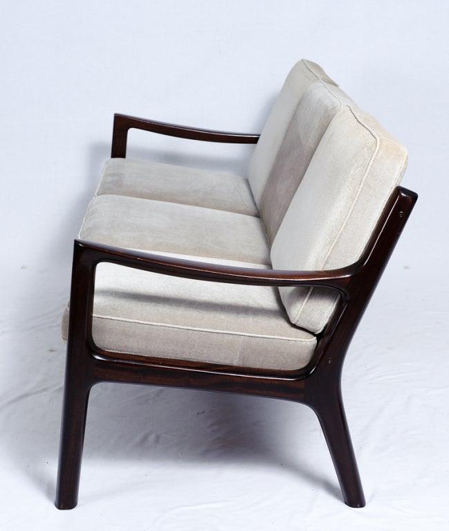 Scandinavian Modern Ole Wanscher Sofa For Sale