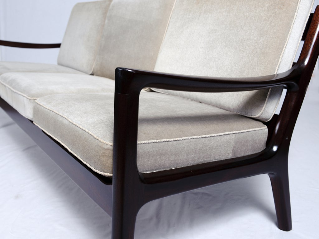 Ole Wanscher Sofa In Excellent Condition For Sale In Los Angeles, CA