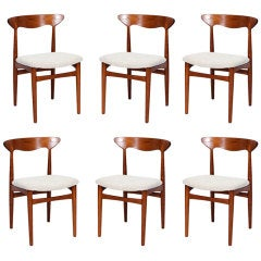 Set of 6 Christian Linneberg Dining Chairs
