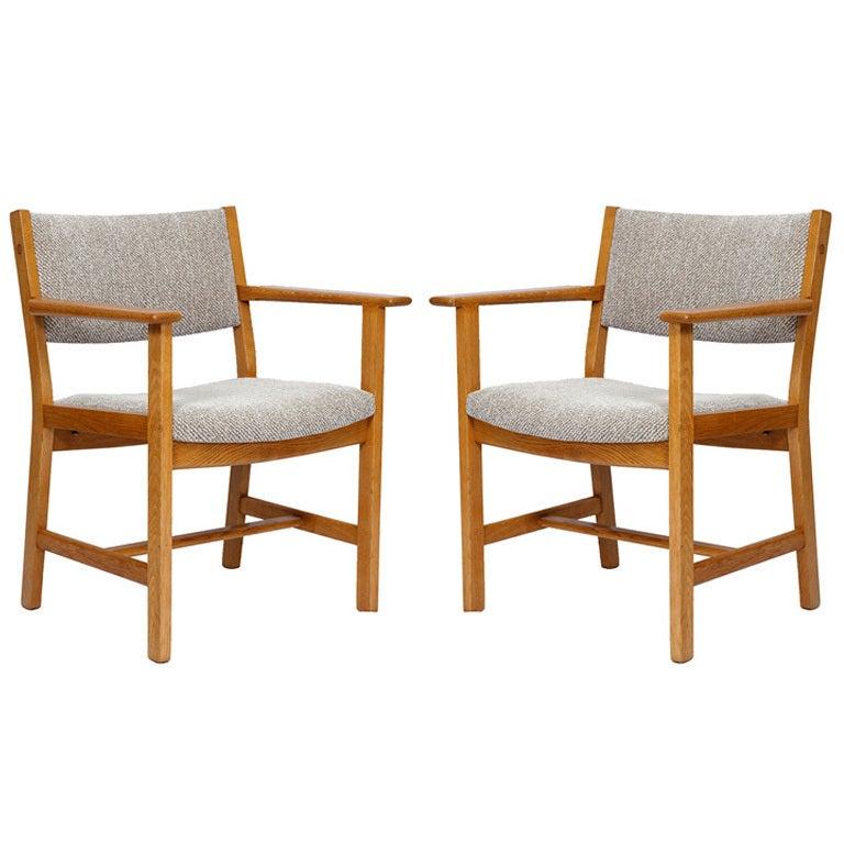 Pair of Hans Wegner Armchairs