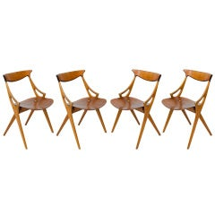 Set of 4 A. Hovmand Olsen Chairs