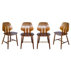 Set of 4 Ejvind A. Johansson Chairs