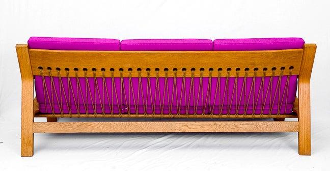Danish Hans Wegner GE-671 Sofa For Sale