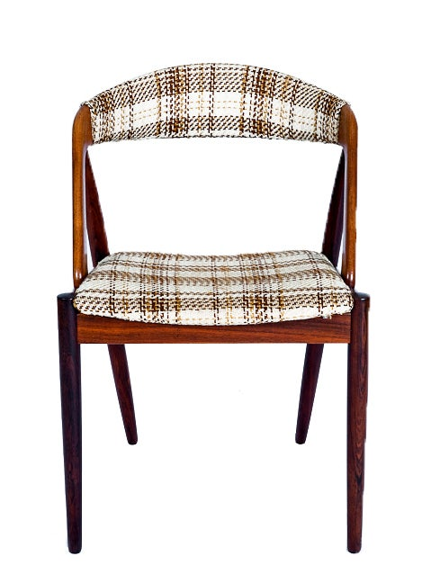 Set Of 6 Rosewood Kai Kristiansen Dining Chairs 2