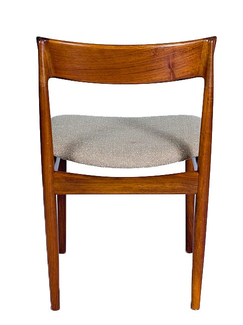 Mid-20th Century SET of 4 ROSEWOOD ROSENGREN HANSEN DINING CHAIRS For Sale