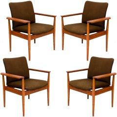"Finn Juhl ""Diplomat"" Armchairs"