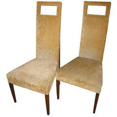 Edwardian Tufted Back Chair At 1stdibs