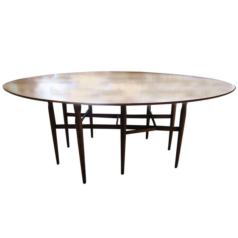 Vintage scandinavian drop leaf dining table at 1stdibs for Dining room tables drop leaf