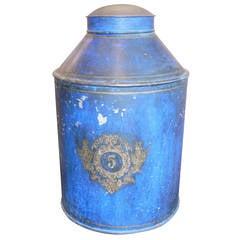Beautiful Large Vintage Tin