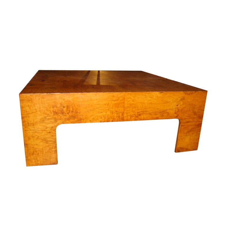 Chunky Vintage Coffee Table At 1stdibs
