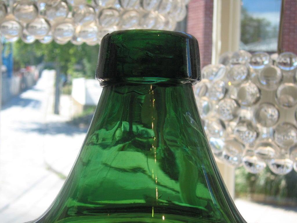 Glass Large Green Demi John