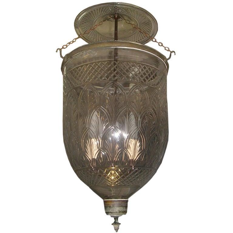 19th C Anglo Indian Large Bell Jar Lantern At 1stdibs