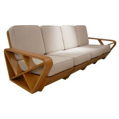 Paul Frankl Attr. 4 Piece Sectional Sofa, Other Pieces Available