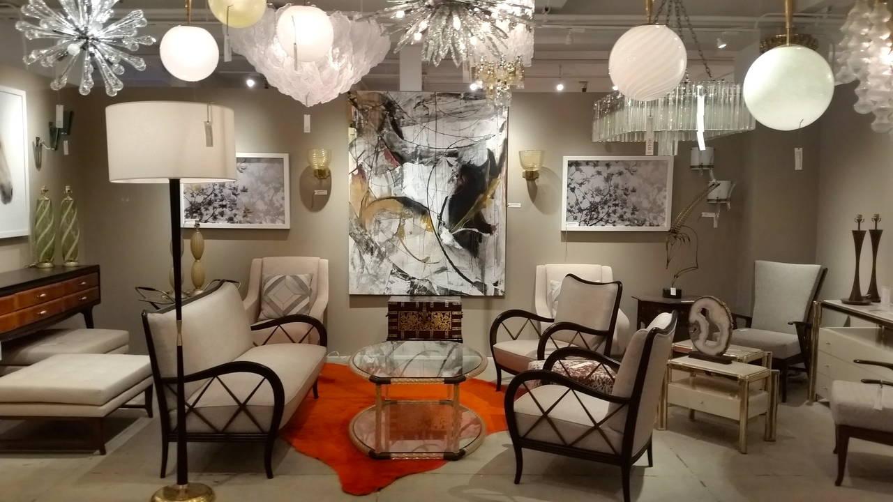 Italian Mid-Century Paolo Buffa Style Settee 6