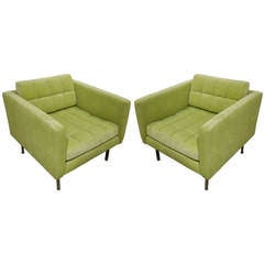 Pair Of Mid-Century Harvey Probber Lounge/Club/Arm Chairs