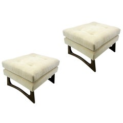 Pair Of Mid-Century Ottomans/Benches By Adrian Pearsall
