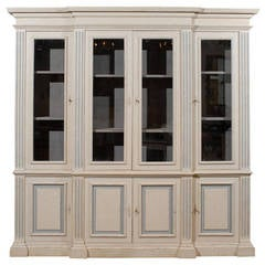 Painted Directoire Bookcase