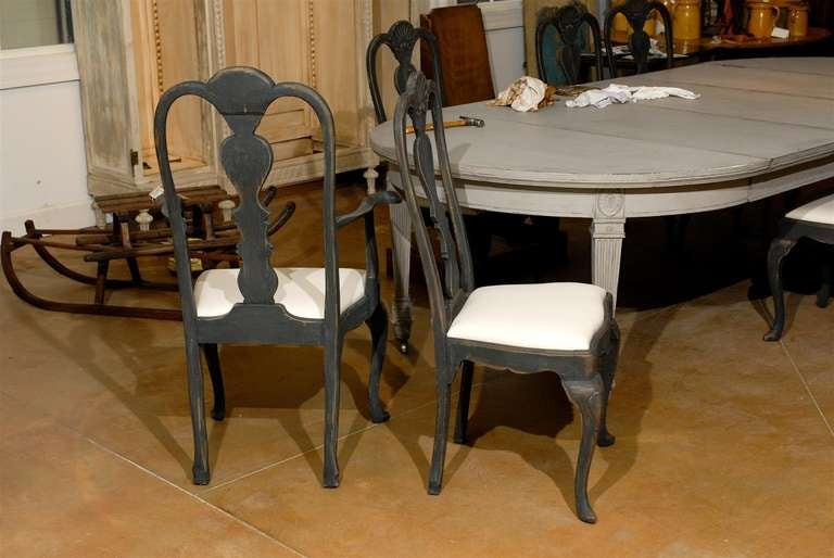 Set Of Eight Rococo Style Chairs For Sale At 1stdibs