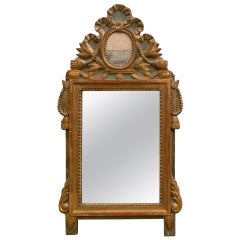 Louis XV Mirror with Engraving
