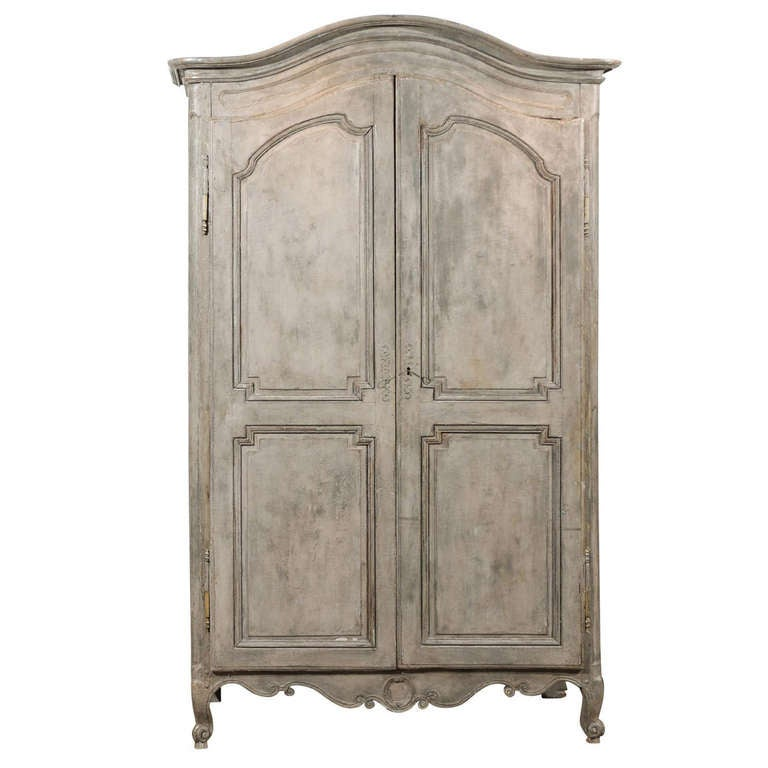 Painted 19th Century Armoire At 1stdibs