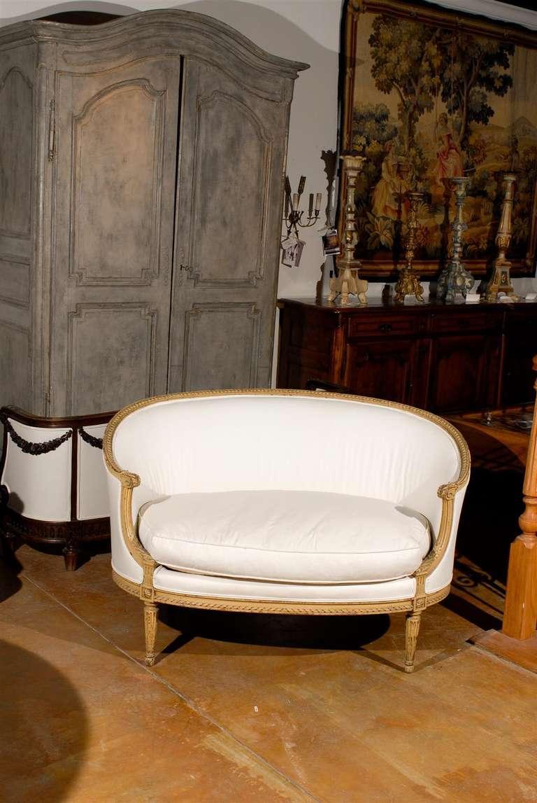 Louis XVI 19th Century French Sofa For Sale