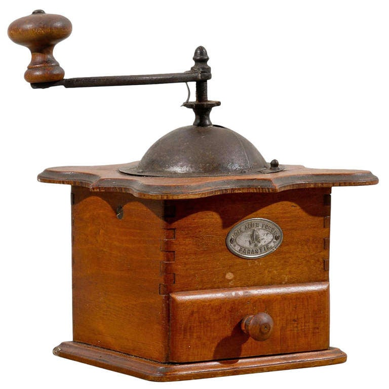 Dating antique coffee grinders