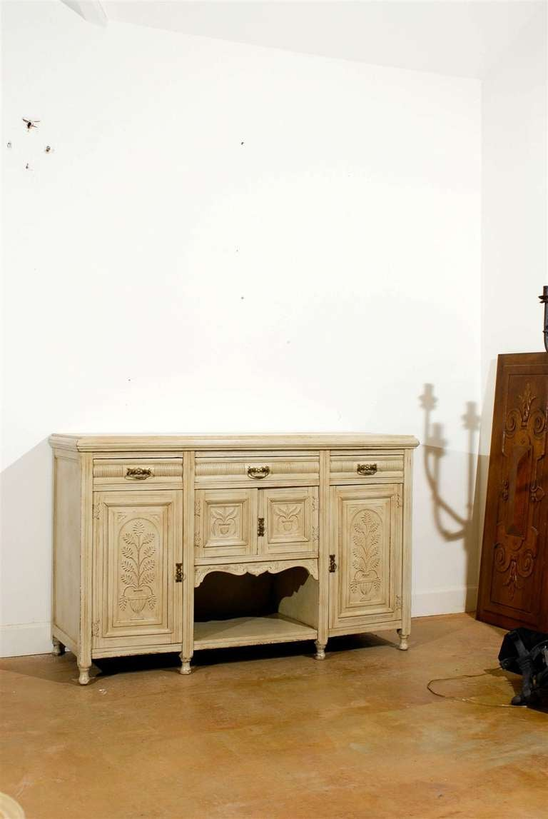 Painted Eastlake Sideboard From England At 1stdibs