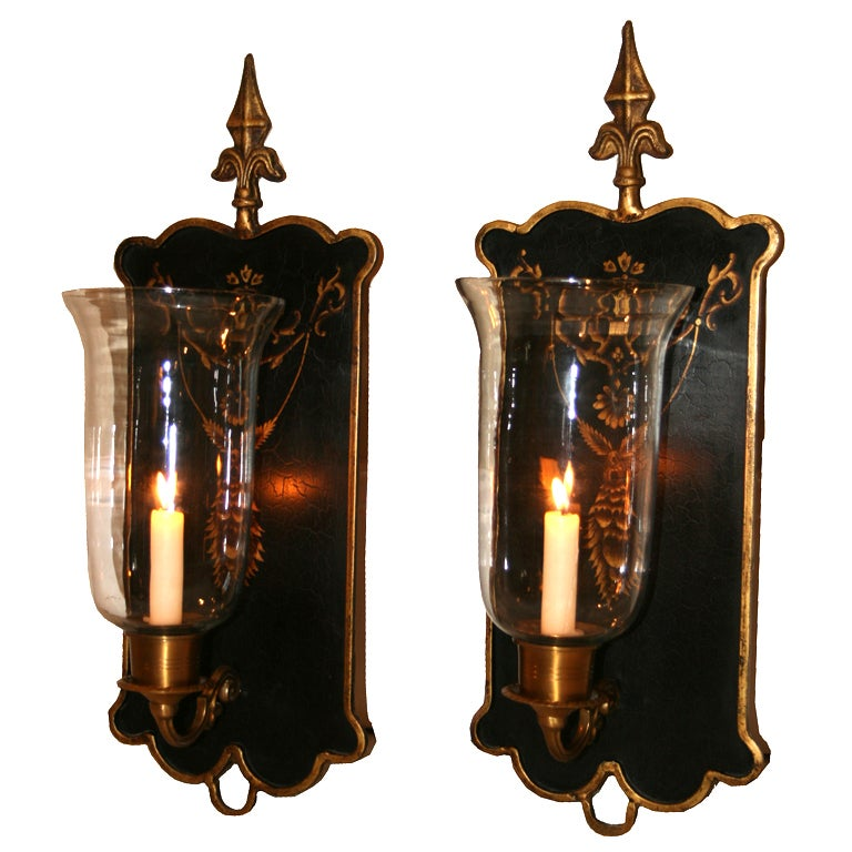Wall Sconces With Candle Holders : Sconce Wall Candle Holders. at 1stdibs