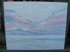 "60"" Jane Hendrickson Oil Painting ""Dawn"""