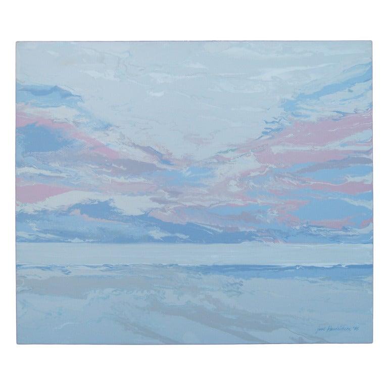 Jane Hendrickson Oil Painting Dawn At 1stdibs