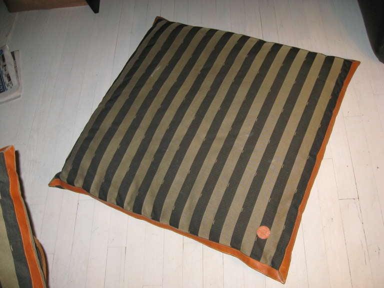 Fendi Oversized Floor Pillows At 1stdibs