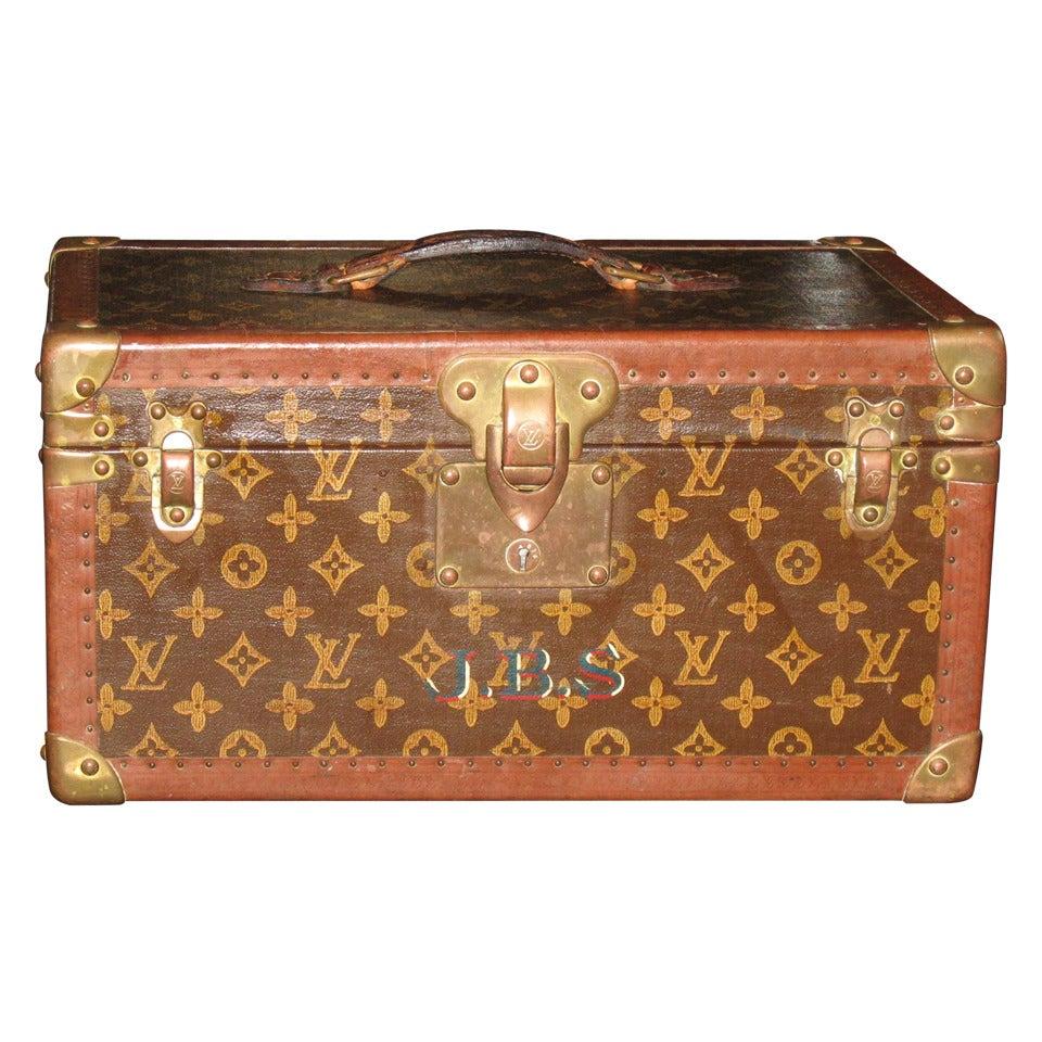 1950s Louis Vuitton Train Case