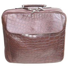 Crocodile Travelling Bag by Laurent